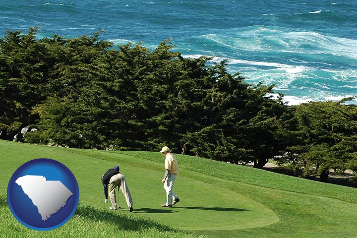 Golf Courses In South Carolina Map.Private Golf Clubs In South Carolina